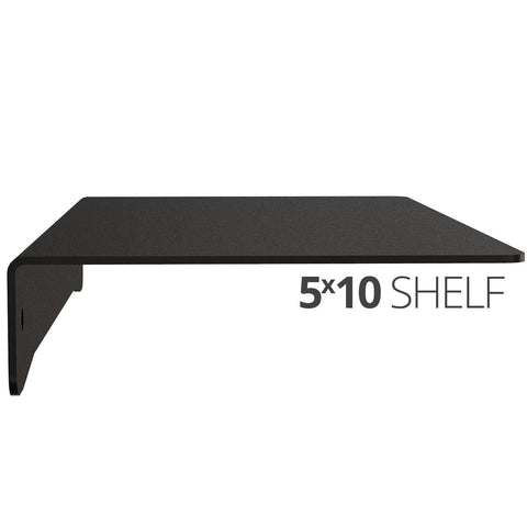 Wall Shelf by Koova for organizing your home or office organization - 5x10 side