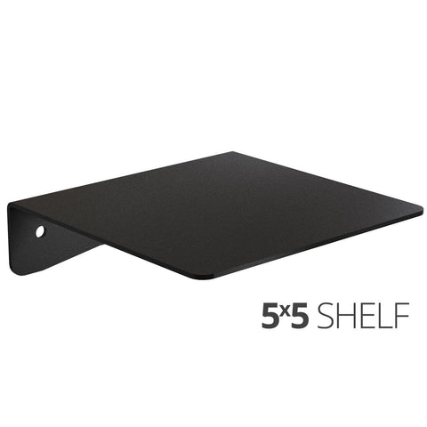 Wall Shelf by Koova for organizing your home or office organization - 5x5 angle