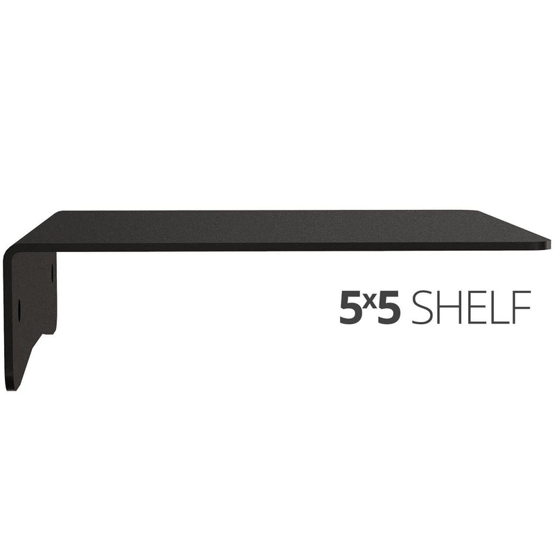 Wall Shelf by Koova for organizing your home or office organization - 5x5 side