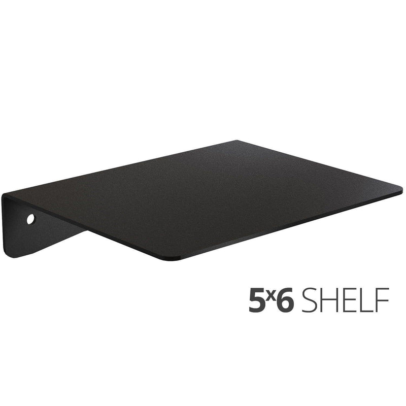 Wall Shelf by Koova for organizing your home or office organization - 5x6 angle
