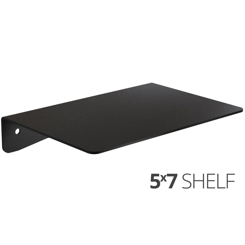Wall Shelf by Koova for organizing your home or office organization - 5x7 angle
