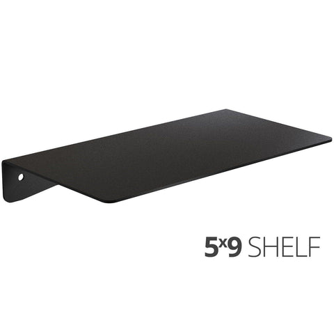 Wall Shelf by Koova for organizing your home or office organization - 5x9 angle