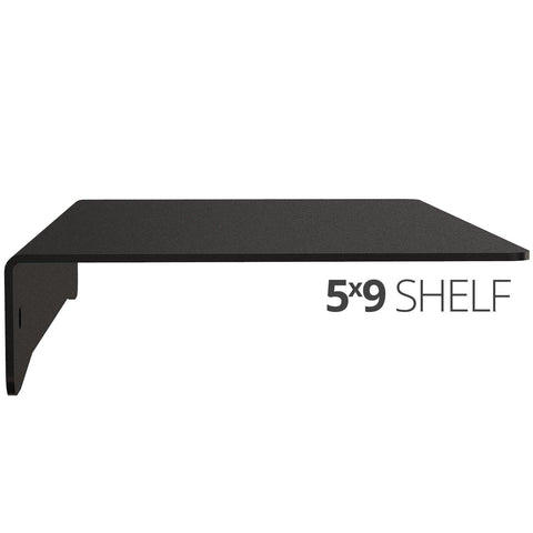 Wall Shelf by Koova for organizing your home or office organization - 5x9 side