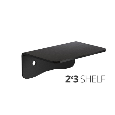 Image of Small wall mounted shelves for home, office and garage - 2x3