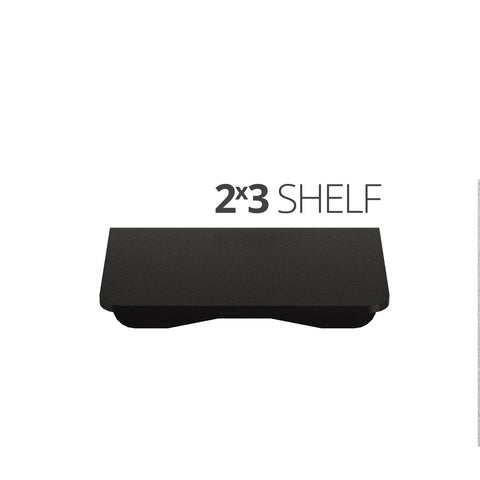 Small wall mounted shelves for home, office and garage - 2x3