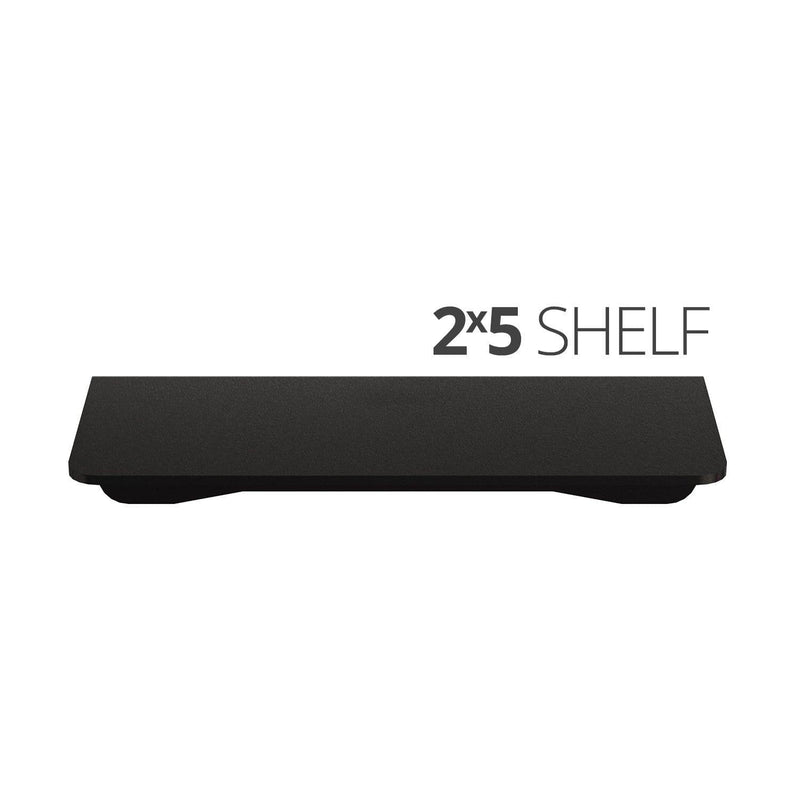 Small wall mounted shelves for home, office and garage - 2x5 top