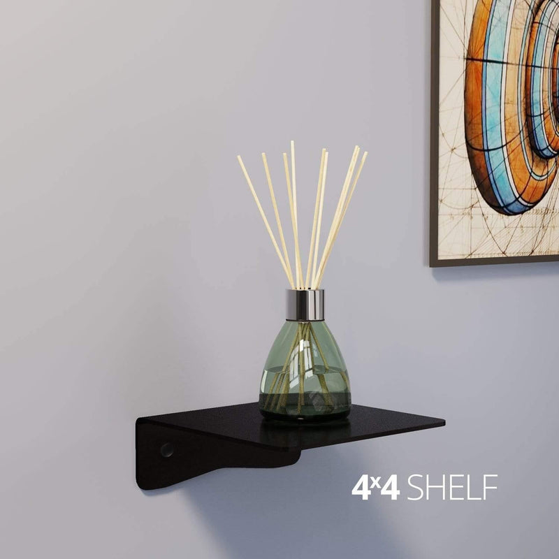 Koova Medium Wall Mount Shelf - 4x4 In use in room