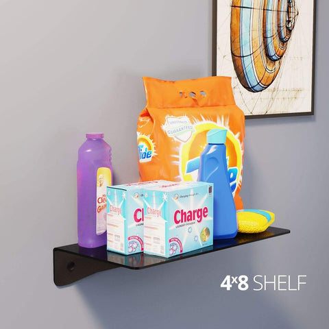 Koova Medium Wall Mount Shelf - 4x8 In use in room
