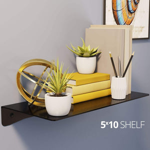 Wall Shelf by Koova for organizing your home or office organization - 5x10 in use example