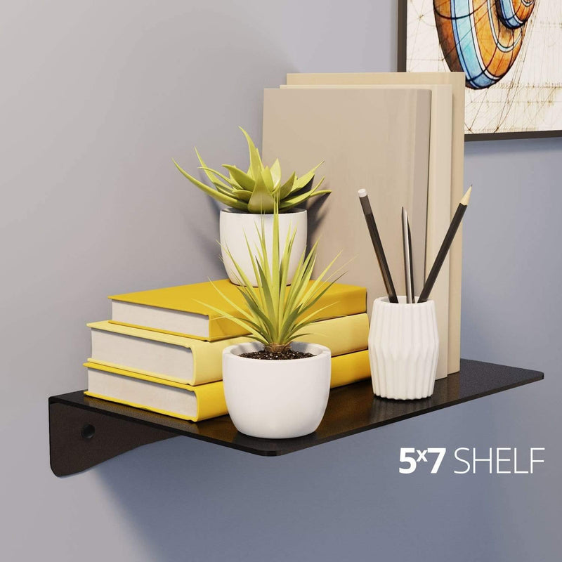 Wall Shelf by Koova for organizing your home or office organization - 5x7 in use example