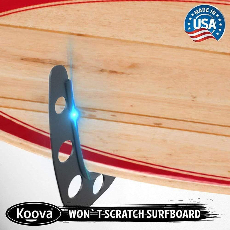 Surfboard wall rack holder will not scratch your surfboard