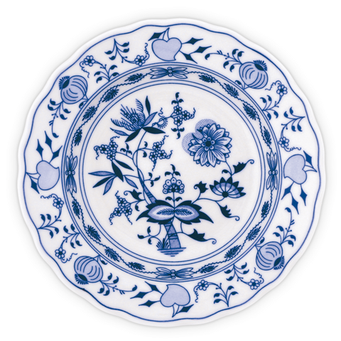 Traditional blue onion porcelain
