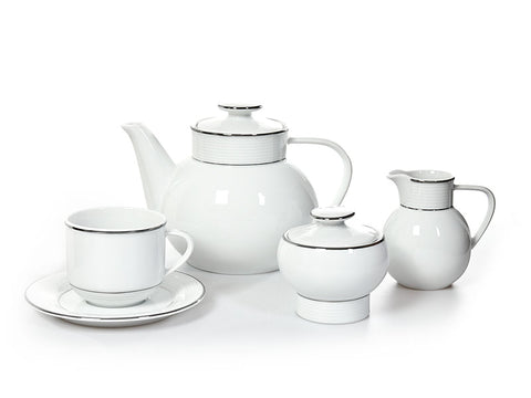 Decorative Coffee and Tea Porcelain Set