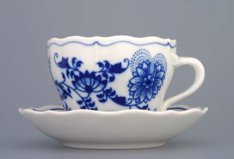 Traditional porcelain cups