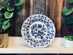 Onion porcelain plate