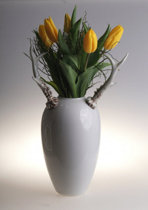 Retro vase - Deer horns