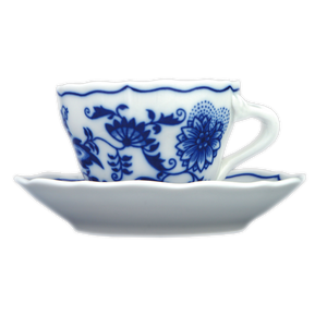 Cup with a saucer