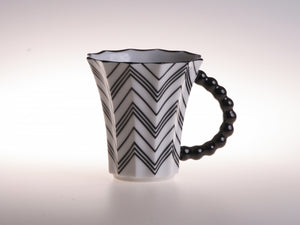 Retro stripes cup- narrow