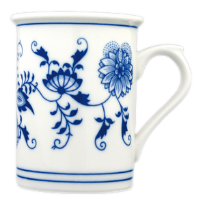 Traditional porcelain beer jug