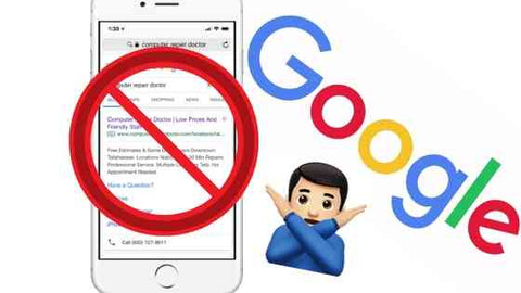Google Bans Third Party Repair Ads Online