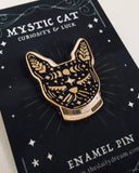 Cat - Enamel Pin Badge Brooch