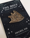 Dove - Enamel Pin Badge Brooch