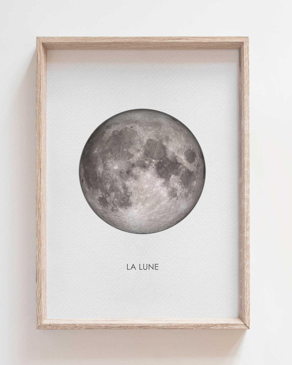 La Lune - print of original illustration on watercolour paper