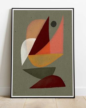 Orenda abstract art print