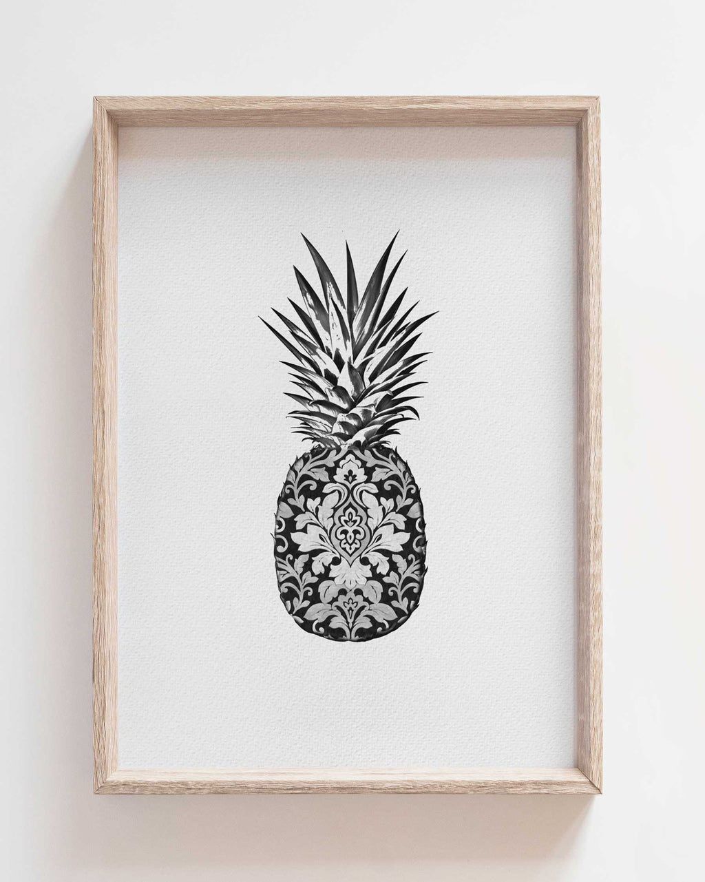 Wallpaper Pineapple - print of original illustration on watercolour paper