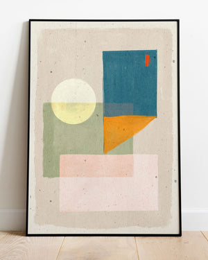 sukoon abstract art print