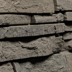 Stacked Stone - Grey Brown $12.99 /SQ FT - oc stone decor