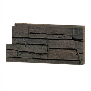 Stacked Stone Grey Brown Sample - oc stone decor