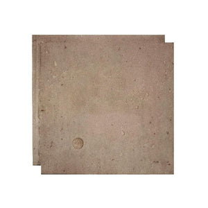 SAMPLE - urbanCONCRETE - Rustic Grey (w/circle) - oc stone decor