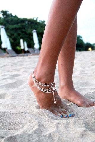 Bridesmaid Foot Chain