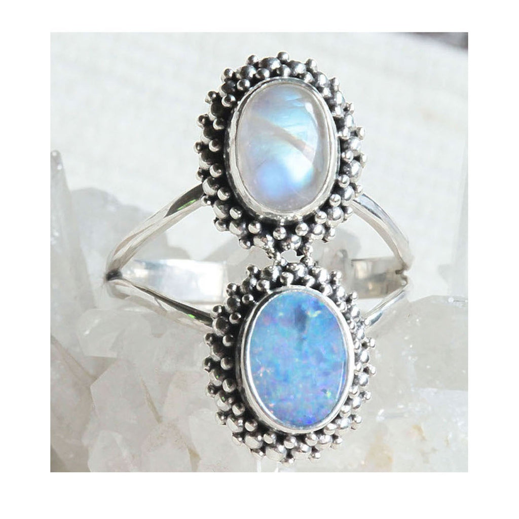 Opullent Opal Ring