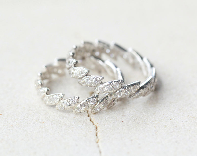 Vintage Leaf Ring, Solid 925 Sterling Silver Handmade Ring, Engagement Ring, Boho Ring, Bohemian Jewelry, Fashion Ring, Sterling Ring