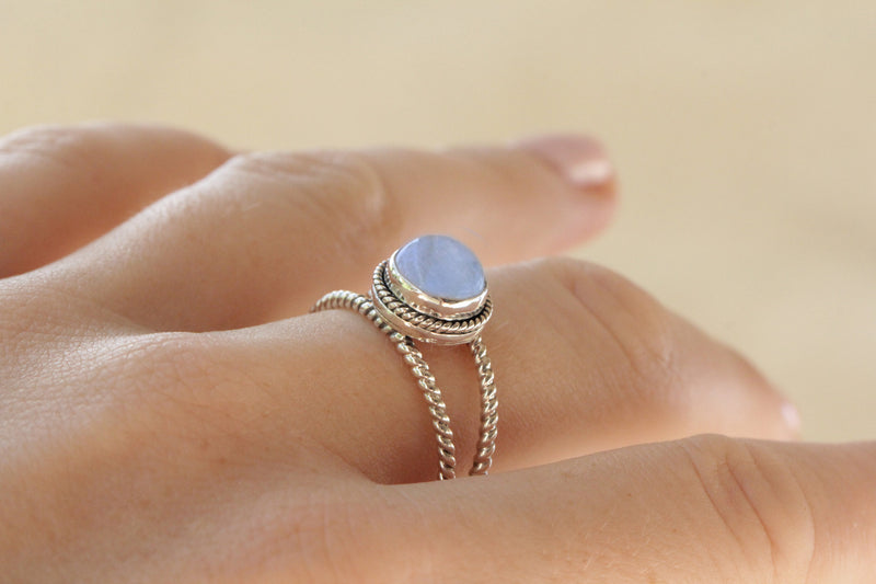 Boho, Moonstone Ring, Silver Ring, Moonstone, Moon Ring, Sterling Silver Ring, Gypsy, Boho Ring, Statement Ring, Gypsy Jewelry, Boho Chic