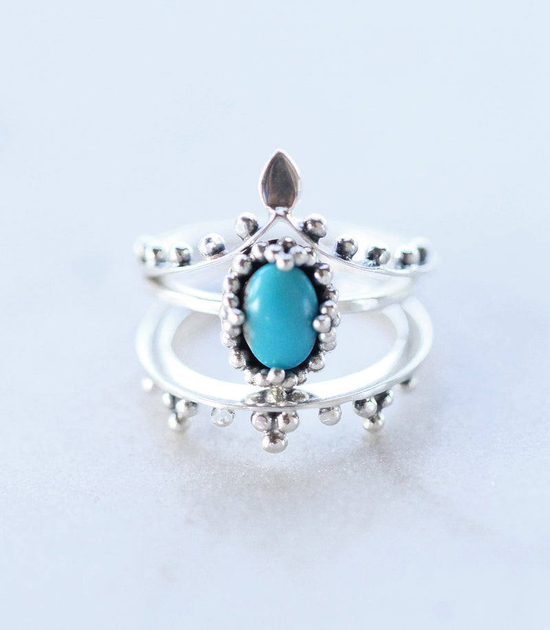 Boho Jewelry,  Boho,  Silver Ring,  Unique Ring,  Turquoise Ring,, Sterling Silver, Stacking Ring, Thin Band ring, Ring Set, , Midi Rings,