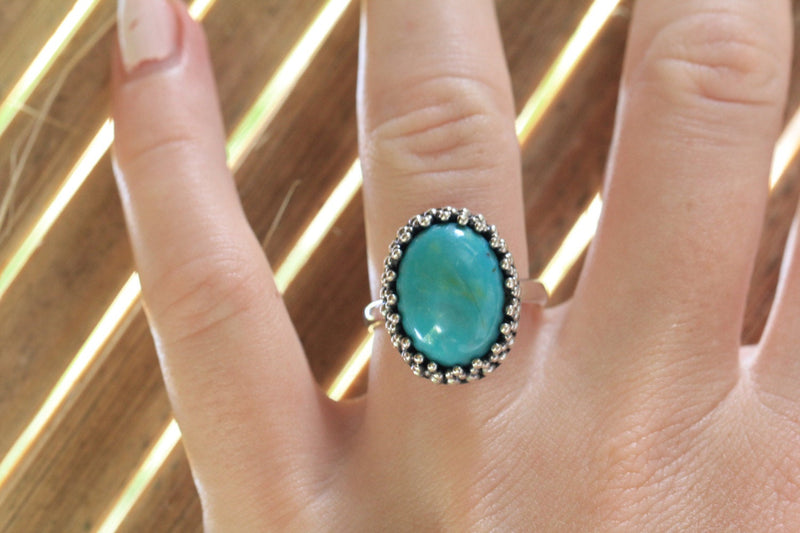 Boho Jewelry,  Boho,  Silver Ring,  Unique Ring,  Turquoise Ring,  Personalised Ring, Statement Ring, Boho Ring, Sterling Silver