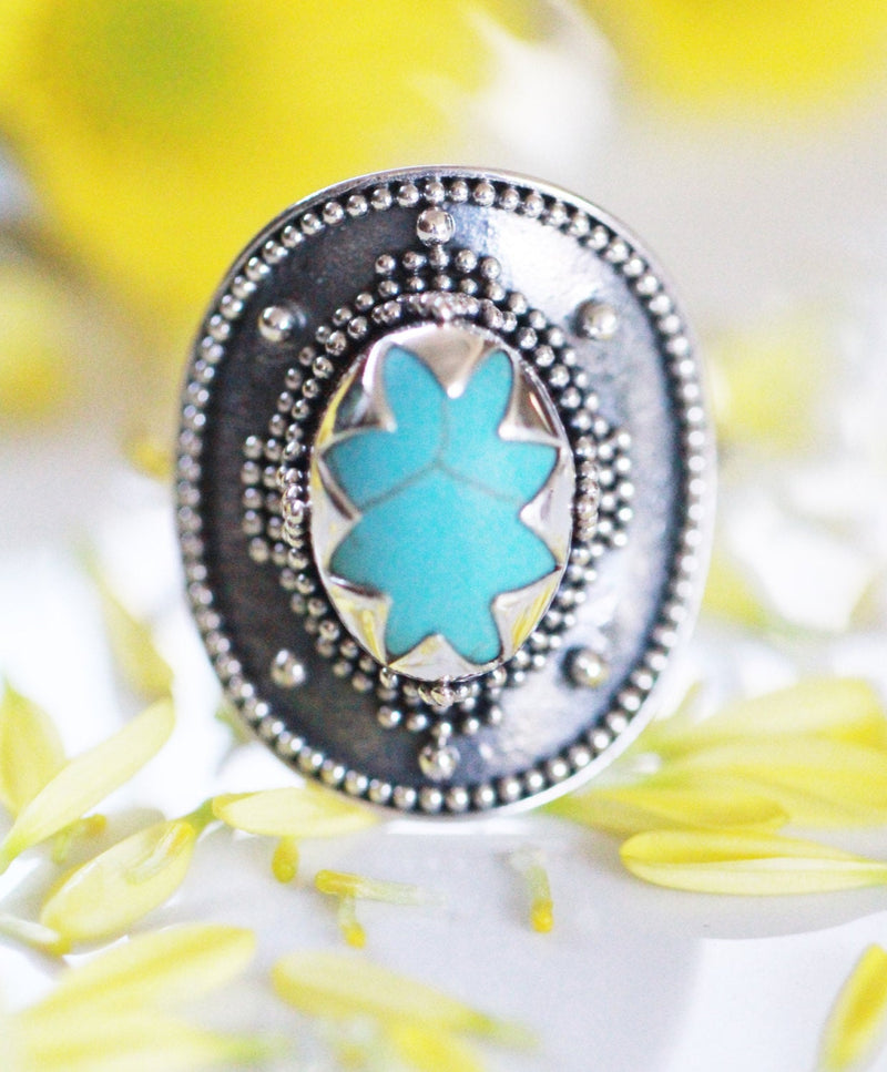 Boho Jewelry,  Boho,  Silver Ring,  Unique Ring, Turquoise Ring  ,Personalised Ring, Statement Ring, Boho Ring, Genuine, Trendy