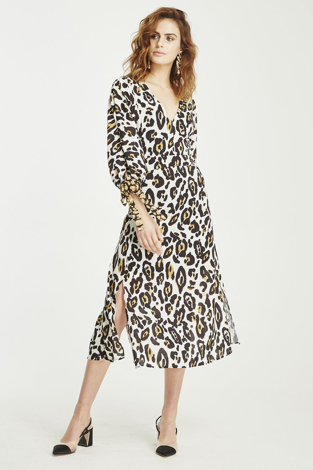 Leopard Lounge Midi Dress