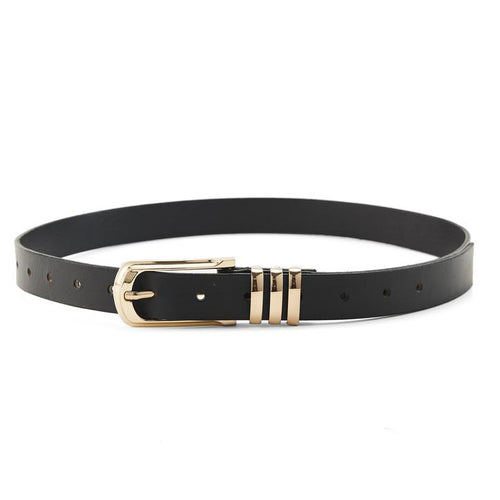 The Ziggy Belt Black/Gold