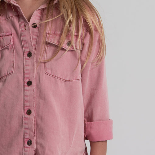 Kids Vintage Denim Shirt