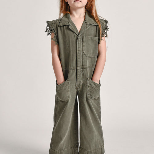 Kids Militaire Safari Camp Overalls