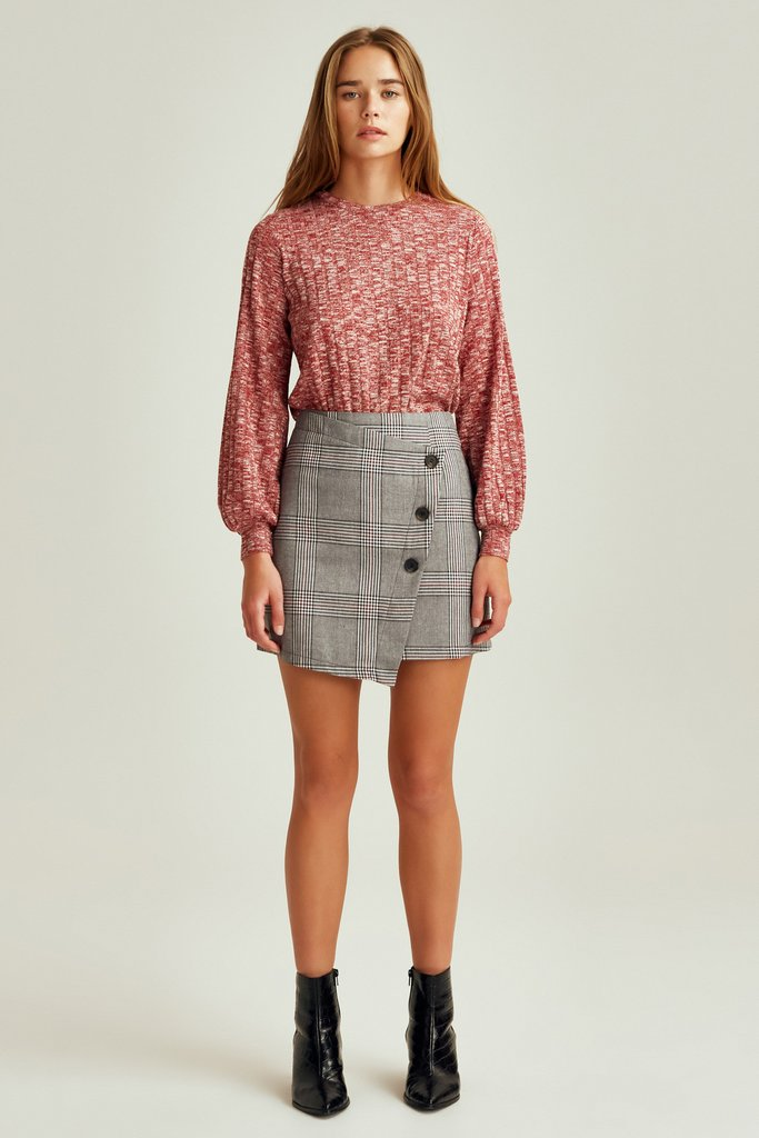 Terrain Check Skirt