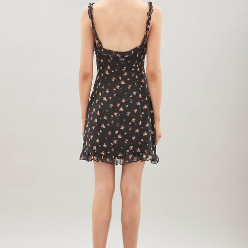 Lea Silk Dress Print