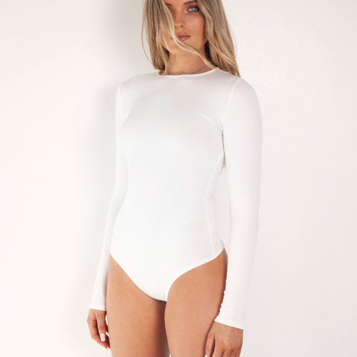L/S Crew Neck Bodysuit