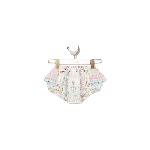 Pink Lemonade Babies Bloomer with Frills