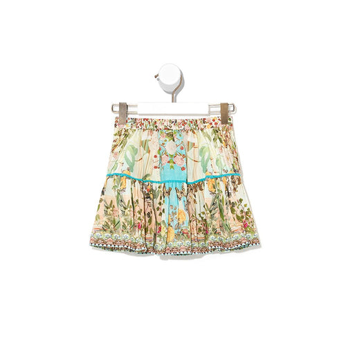 Tea & Honey Kids Skirt with Pintucking
