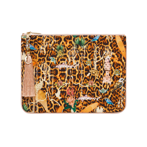 Fauna Electro Small Canvas Clutch